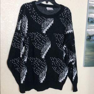 Sweaters - Long Sleeve Acrylic Sweater